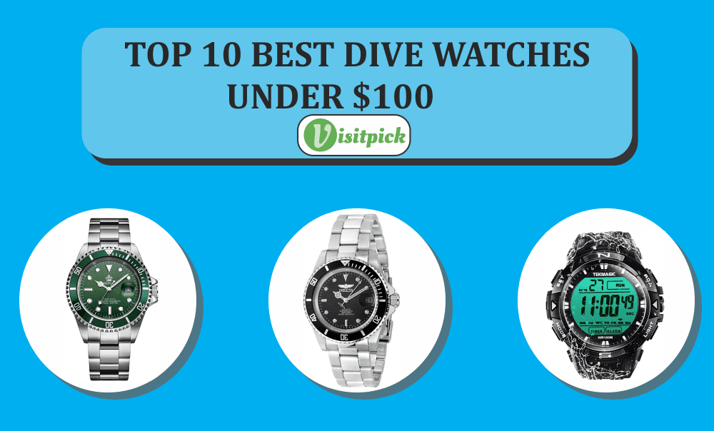 Top 10 Best Dive Watches Under 100 – Review and Guide 2020