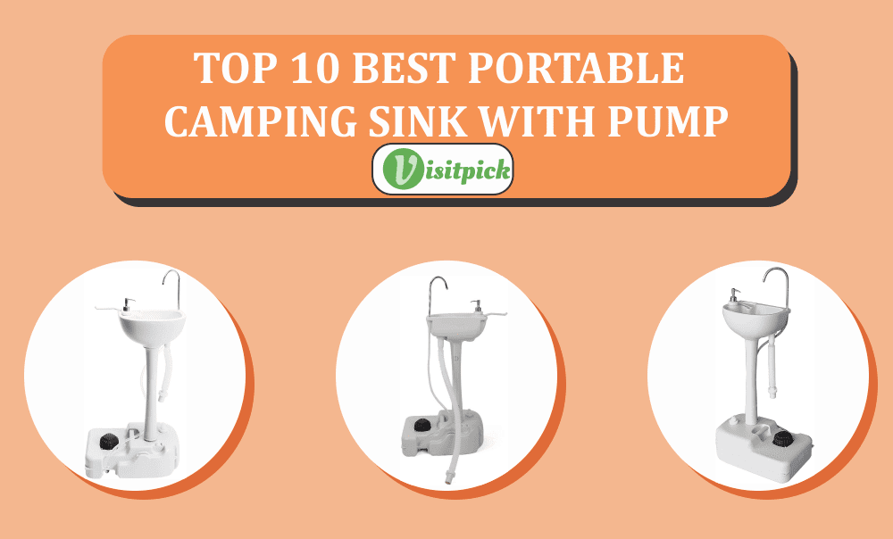 Best Portable Camping Sink With Pump