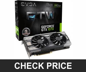 EVGA GeForce GTX 1070 - Best Graphics Card For PUBG