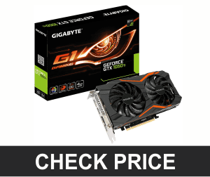 Gigabyte Geforce GTX 1050ti 4GB - Best PUBG Graphics Card To Improve FPS