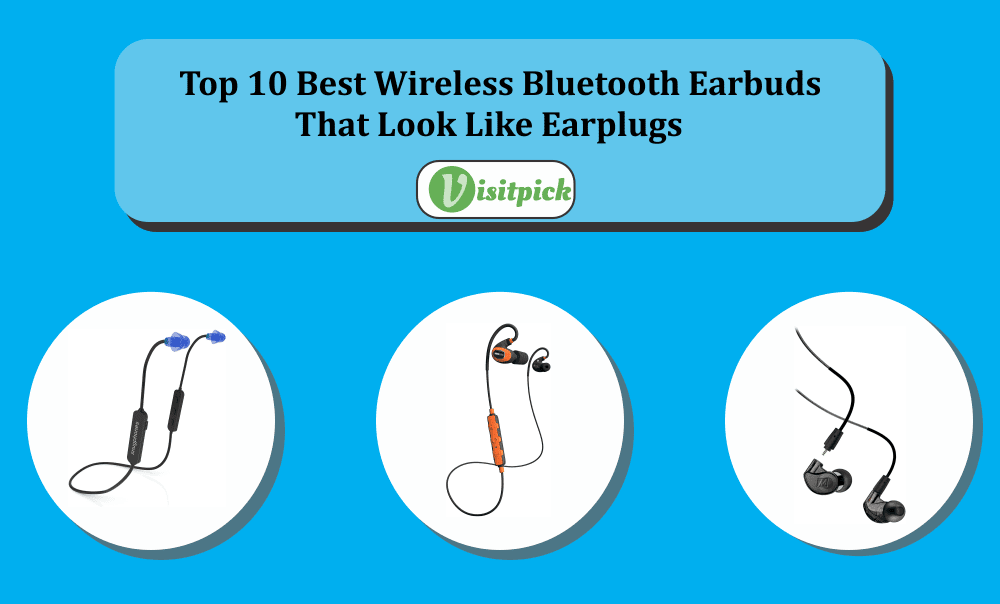Wireless Bluetooth Earbuds That Look Like Earplugs