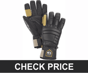 Hestra Waterproof Ski Gloves: Men's and Women's Pro Model Leather Winter Gloves
