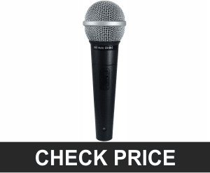 GLS Audio ES-58-S Dynamic Microphone