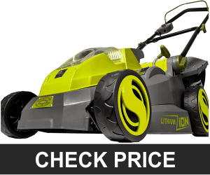 Sun Joe ION16LMCT iON16LM-CT 40-Volt 4.0-Amp 16-Inch Brushless Cordless Lawn Mower