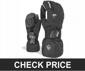 Level Fly Trigger Snowboard Gloves with BioMex Wrist Guards