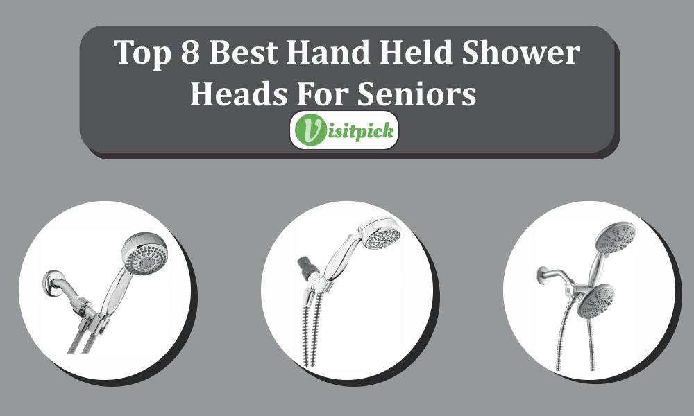 best hand held shower heads for seniors