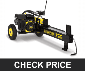 Champion 7-Ton – Compact Horizontal Gas Log Splitter with Auto Return