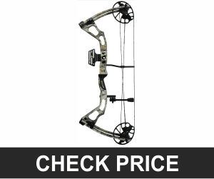 iGlow Black Camo Archery Hunting Compound Bow