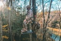THE BEST LIGHTEST CLIMBING TREE STAND